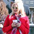 Exclusif - Gwen Stefani lors de l'anniversaire de Susan Downey à San Francisco, le 10 novembre 2013.