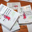 Le Dictionnaire universel des créatrices au siège de l'Unesco à Paris, le 22 novembre 2013