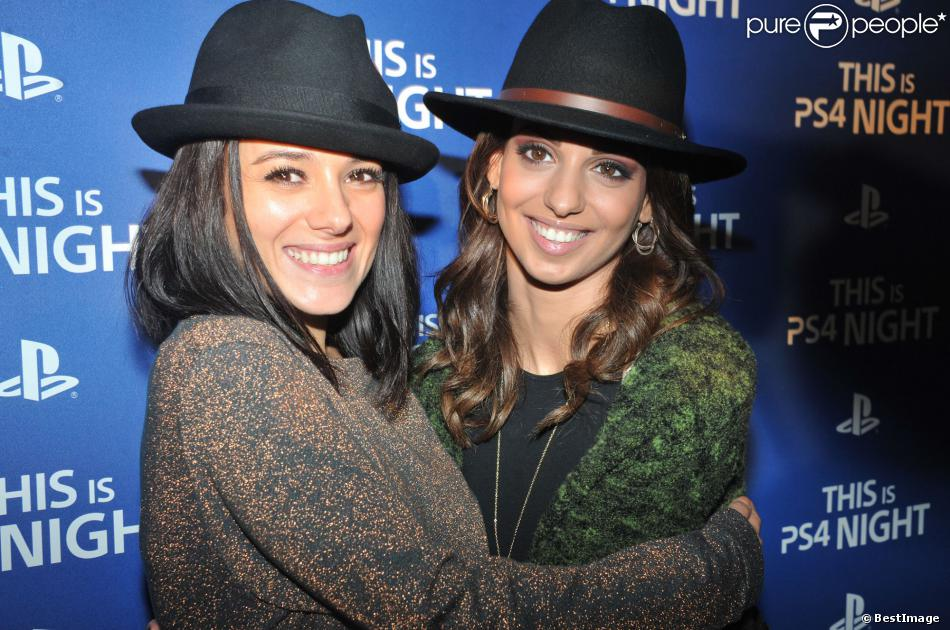 La chanteuse Tal et la chanteuse Alizée ont participé à la soirée de lancement de la console Playstation 4 Sony au centre culturel alternatif Electric à Paris le 28 novembre