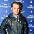 Nicolas Duvauchelle lors de la soirée de lancement de la console Playstation 4 Sony au centre culturel alternatif Electric a Paris le 28 novembre 2013