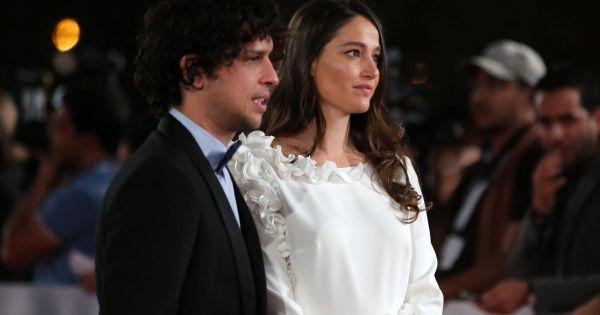 Marie gillain et son mari christophe degli esposti lors du 13eme festival international du film - Marion game et son mari ...