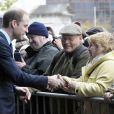 Le prince William, duc de Cambridge, s'est rendu au centre communautaire Summerfield et dans un collège lors de sa visite à Birmingham le 29 novembre 2013