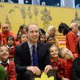 Le prince William à la bibliothèque de Birmingham, le 29 novembre 2013.