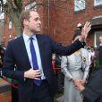 Le prince William au foyer dirigé par St. Basil à Birmingham, le 29 novembre 2013.
