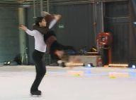 Ice Show : En coulisses les stars s'entraînent, se font des bleus et s'amusent !