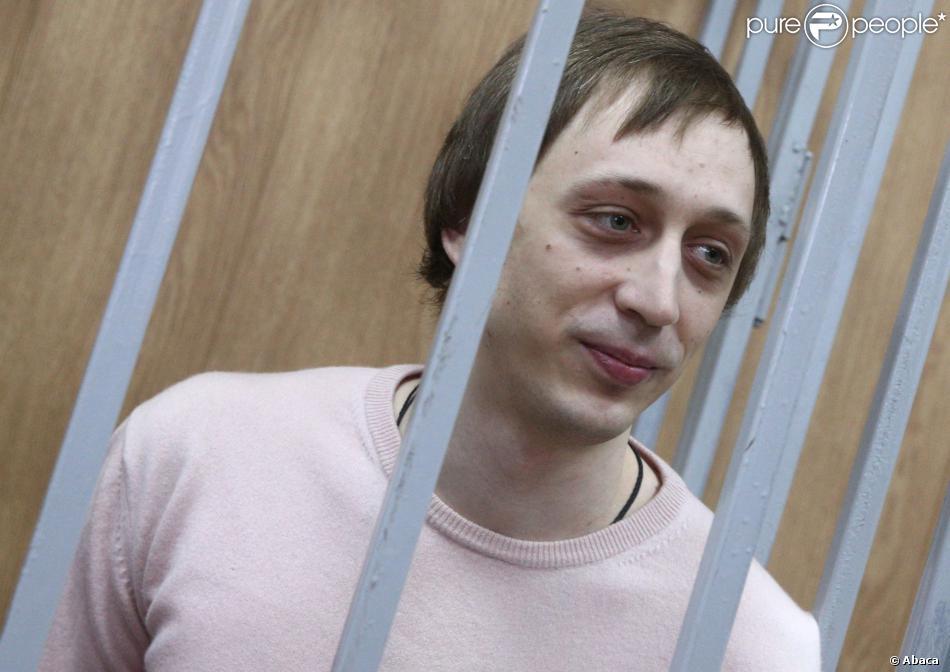 Pavel Dmitrichenko à l'annonce du verdict à Moscou le 3 décembre 2013.