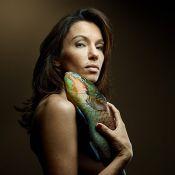 Aure Atika et Gillian Anderson : Nues pour les poissons avec le créateur Kenzo