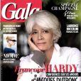 Françoise Hardy en couverture du magazine Gala daté du 4 décembre 2013.