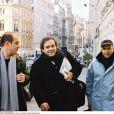 """""""Didier Bourdon, Bernard Campan et Pascal Légitimus à Paris en 2001"""""""