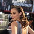 Gal Gadot à la première de Fast & The Furious 6 à Beverly Hills, Los Angeles, le 21 mai 2013.