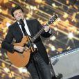 Patrick Bruel lors de la soirée spéciale Téléthon sur France 2, le samedi 7 décembre 2013.
