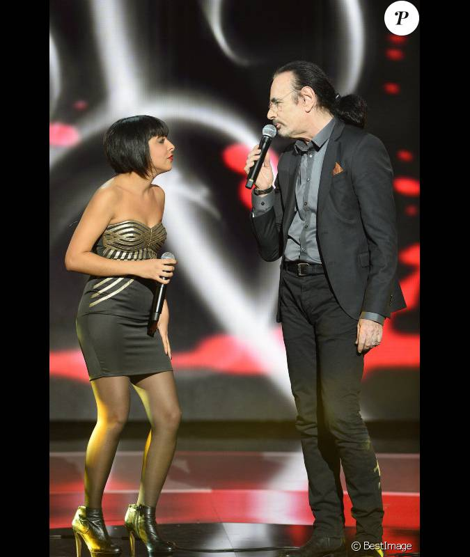 Carmen maria et nicolas peyrac lors de la soir e sp ciale for Soiree telethon