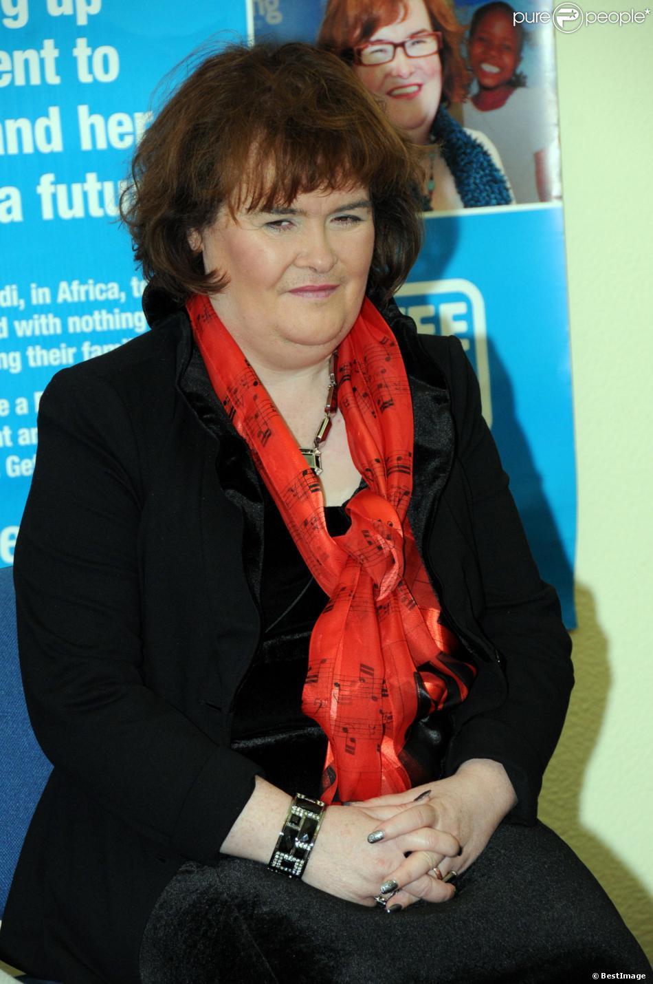 Susan Boyle, le 12 février 2013.