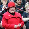 Susan Boyle à Glasgow, le 24 octobre 2012.