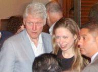 Chelsea Clinton : Complice avec son père Bill, en mission au Brésil