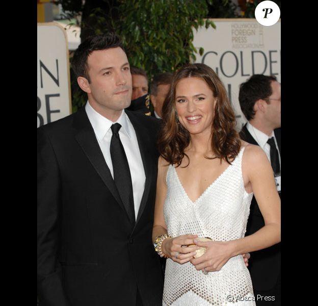 Jennifer Garner et Ben Affleck arrivent aux Golden Globes 2008