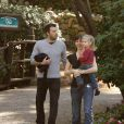 Jennifer Garner et Ben Affleck avec leur fille Violet