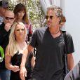 Britney Spears et Jason Trawick, à Miami, le 24 juillet 2012.
