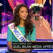 Flora Coquerel, soutenue par les Miss : ''Je découvre le racisme...''