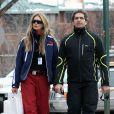 Elle Macpherson et Jeff Soffer à Aspen pendant leurs vacances d'hiver en décembre 2009