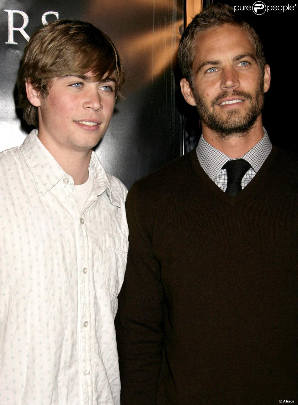 Cody et Paul Walker à Los Angeles, le 9 octobre 2006.