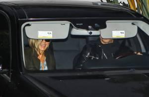 Jennifer Aniston et Justin à la baby shower de leur amie enceinte, Emily Blunt