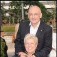 Exclusif - Mimie Mathy et son mari en 2010.