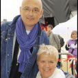 Mimie Mathy et son mari en 2009.