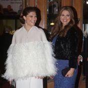 Madeleine de Suède, enceinte, et Victoria : Divines pour les 70 ans de la reine