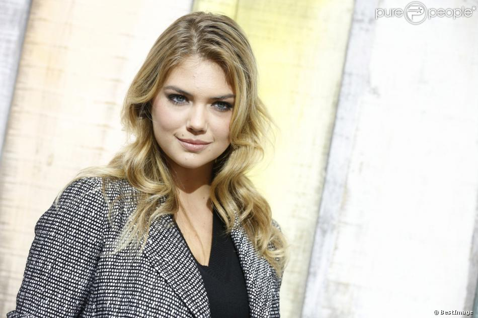 Kate Upton à Paris, le 1er octobre 2013.