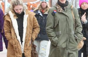 Melanie Griffith, 56 ans : Sous la neige au côté de sa jolie fille Stella