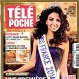Flora Coquerel en couverture de Télé Poche