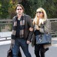 Rachel Zoe, enceinte, et son mari Rodger Berman se promènent à West Hollywood, le 10 décembre 2013.
