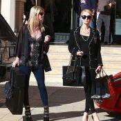 Paris et Nicky Hilton : Virée shopping intense pour les héritières bling-bling