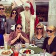 Les Hilton ont fêté Noël en famille dans la station très prisée d'Aspen dans le Colorado.