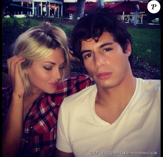 Caroline Receveur profite d'un séjour en amoureux avec son chéri Valentin. Le couple s'est rendu à Miami.