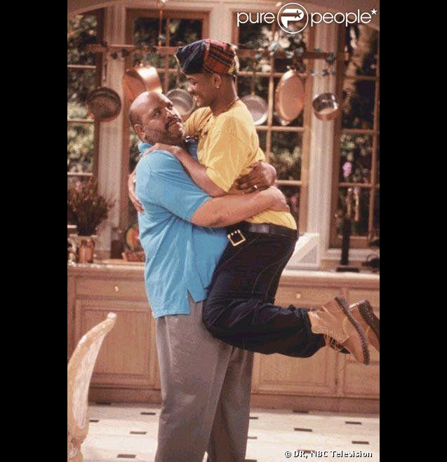 Will (Will Smith) et Oncle Phil (James L. Avery).