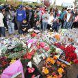 L'hommage à Paul Walker et Rodger Rodas à Los Angeles le 8 décembre 2013 après leur accident mortel le 30 novembre 2013