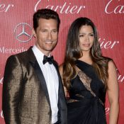 Matthew McConaughey et Camila, Julia Roberts... Vertige de stars à Palm Springs