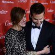 Julia Roberts et Bradley Cooper lors de la soirée de remise de prix du 25e Festival International du film de Palm Springs. Le 4 janvier 2014.