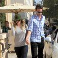 Kaley Cuoco et son mari Ryan Sweeting à Beverly Hills, le 3 janvier 2014 trois jour après leur mariage à Santa Susana.