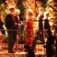 Mariage de Kaley Cuoco et Ryan Sweeting au ranch Hummingbird Nest à Santa Suasana (Californie du Sud), le 31 décembre 2013
