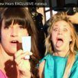 Kaley Cuoco, vidéo behind the scene du chantier de make up à l'oeuvre derrière son mariage avec Ryan Sweeting le 31 décembre 2013