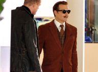 Johnny Depp : Look rétro et dandy chic pendant que Vanessa Paradis s'éloigne