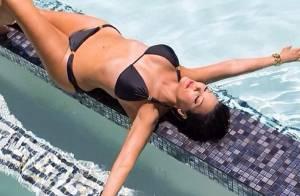 Kim Kardashian : Sa mère Kris Jenner, sexy sirène en bikini à 58 ans !