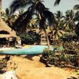 Laury Thilleman partage avec ses followers une photo de son lieu de vacances.