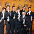 Les hommes de Desperate Housewives lors de la 11e cérémonie des Screen Actors Guild Awards à Los Angeles, le 5 février 2005.