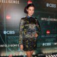 """Meghan Ory à la soirée """"CNET'S"""" de la chaîne de télévision CBS à Las Vegas, le 7 janvier 2014."""
