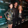 """Meghan Ory, Josh Holloway, Marg Helgenberger à la soirée """"CNET'S"""" de la chaîne de télévision CBS à Las Vegas, le 7 janvier 2014."""
