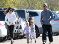 Matthew McConaughey et Camila : Petit footing avec leurs adorables bambins